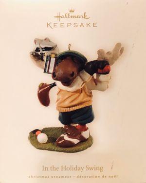 "Hallmark Keepsake ""In the Holiday Swing"" Golf Golfing Moose 2008 (New) for Sale in Brandon, MS"