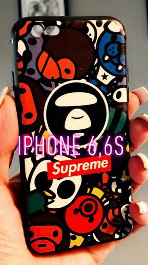 New cool iphone 6 6s case rubber hypebeast cool bape bathing ape celebrity street rap hype hypebeast for Sale in San Bernardino, CA