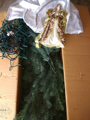 Artificial Christmas tree (7 feet) for Sale in Apple Valley, MN