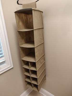 Hanging closet organizer for Sale in IL, US