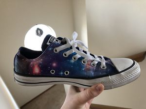 Galaxy print Converse for Sale in Columbus, OH