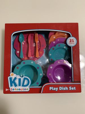Kid Connection 21 Piece Play Dish Set NEW for Sale in Miami, FL