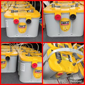 OPTIMA BATTERIES AVAILABLE AGM GEL BATTERIES 💯 CHARGE CORE EXCHANGE IS NEEDED SEMI-NEW for Sale in Anaheim, CA