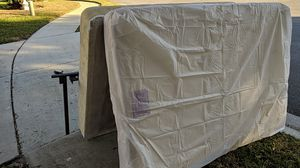 Full/double mattress, box springs, and frame for Sale in New Port Richey, FL