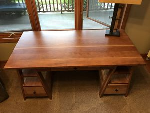 Yutzy built Cortland Sawhorse desk for Sale in Iowa City, IA