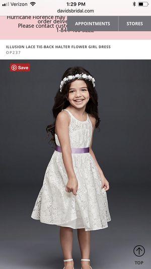 Flower girl dress - size 6 for Sale in Alexandria, VA