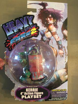 "Xebec Toyz. Heavy Metal Fakk 2. Kerrie 4"" Action Figure Play Set for Sale in Elgin, IL"
