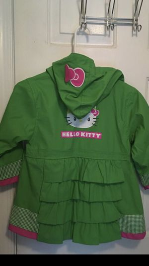 Girls Clothes Hello Kitty Raincoat Size 4 Toddlers for Sale in Boca Raton, FL