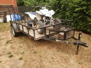 Utility trailer 6x12 for Sale in Seattle, WA