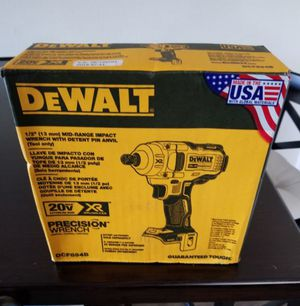 """DeWalt 20V Max Brushless XR 1/2"""" Impact Wrench NEW for Sale in Unorganized Territory of Fort Snelling, MN"""