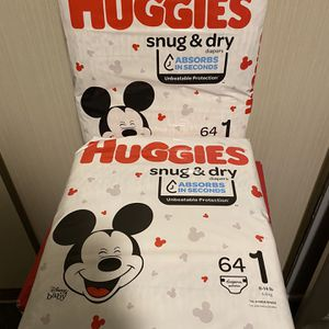 Size 1 Diapers 64 Count for Sale in Phoenix, AZ