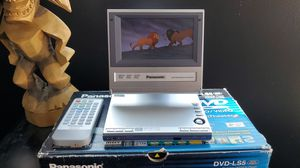 Panasonic portable dvd player, DVD-LS5 for Sale in San Fernando, CA
