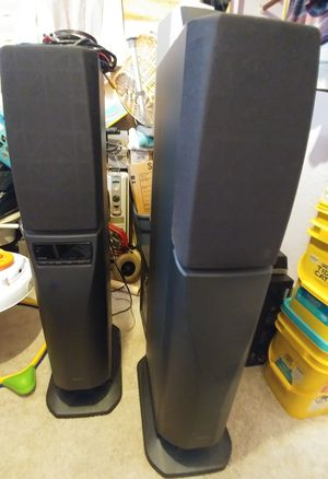 speakers great for gaming or movies .both work great. for Sale in Lake Worth, FL