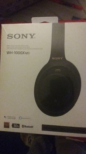 Sony wh 1000x m3 noise canceling for Sale in Newport News, VA