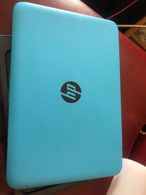 Hp sky blue laptop for Sale in Grayslake, IL