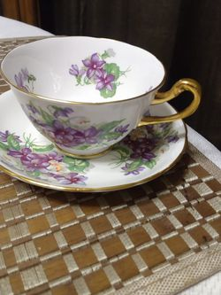 Royal Chelsea- Fine Bone China Teacup And Saucer. Made In England for Sale in Lake Havasu City,  AZ