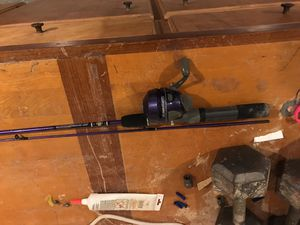 Zebco fish pole / rod and reel for Sale in Garland, TX