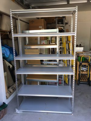 Metal Shelves (3 total available) for Sale in Fort Lauderdale, FL