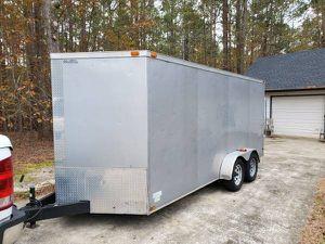 7 x 14 enclosed trailer for Sale in Dallas, TX