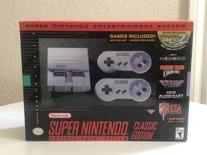 Super Nintendo Classic Edition for Sale in Bellaire, TX