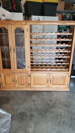 Wine Cabinet for Sale in Burlington, WA