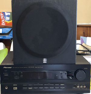 Pioneer receiver / Yamaha subwoofer for Sale in Wantagh, NY