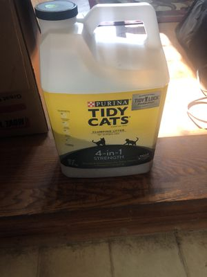 Tidy cat litter for Sale in Wilson, NC