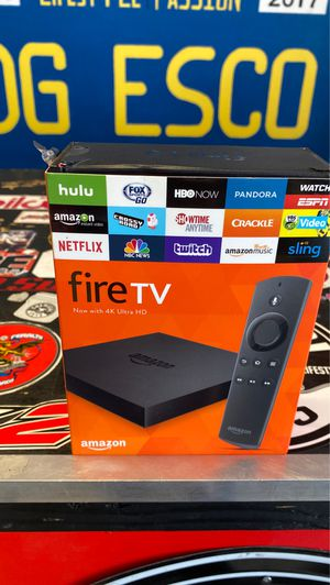 Fire tv 4K like new! for Sale in Escondido, CA