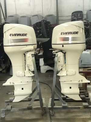 2 each Evinrude 175 HP 2005 Outboard Motors (priced individually) for Sale in Hialeah, FL