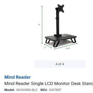 Monitor Desk Stand for Sale in Anderson Island, WA