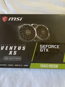 GEFORCE GTX 1660 Super Ventus Xs Oc for Sale in Riverside,  CA