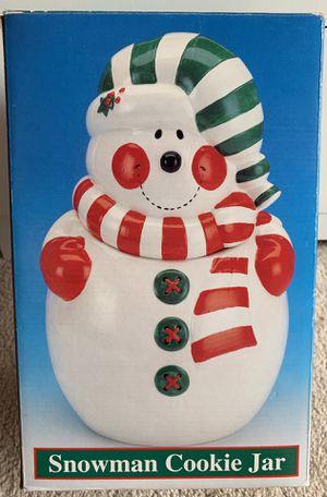 Snowman cookie Jar for Sale in Alexandria, VA