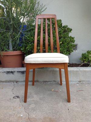 Mid Century Danish Modern Vintage Teak Boho Accent Desk Chair for Sale in San Diego, CA