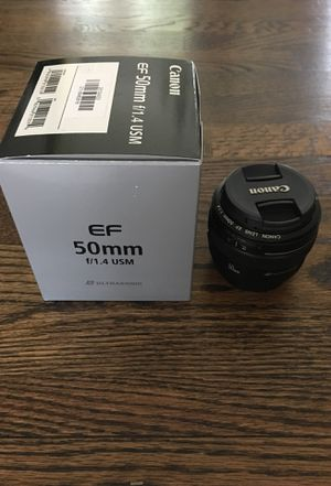 Canon Lens 50mm 1.4 for Sale in Maple Valley, WA