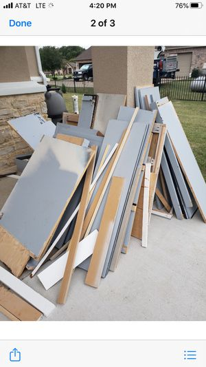 Plywood for kitchen cabinets for Sale in Fort Worth, TX