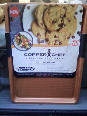 Copper chef diamond bakeware for Sale in Santa Fe Springs, CA