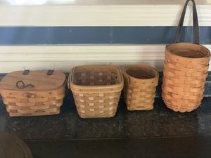 Longaberger baskets for Sale in Gulfport, FL
