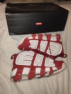 Supreme uptempo red size 11 new no box for Sale in Oakton, VA