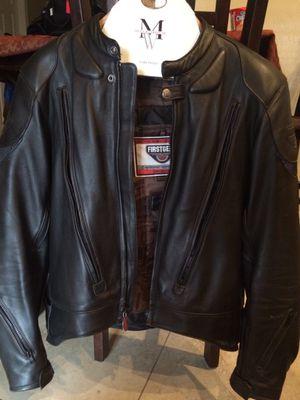 First gear men's motorcycle jacket for Sale in Avondale, AZ