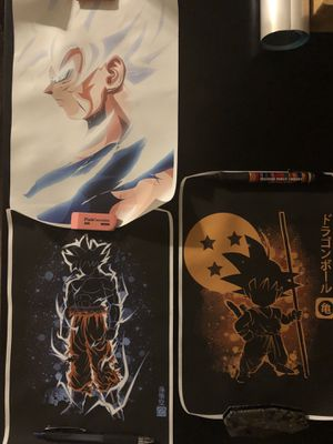 Dragon Ball Z posters new for Sale in Tolleson, AZ
