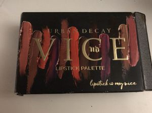 Urban Decay lipstick palette for Sale in Tacoma, WA