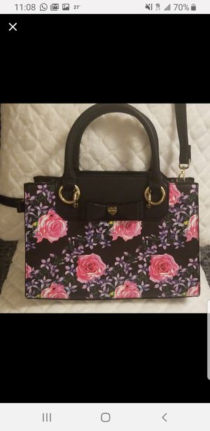 Betsey Johnson Floral Satchel for Sale in The Bronx, NY