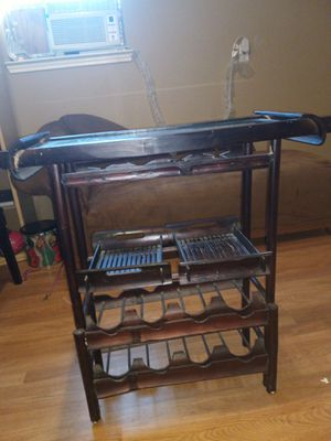 Small wine rack/table for Sale in Frisco, TX