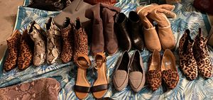 Assorted Shoes Booties and Boots Sized 9-9.5 for Sale in Mill Creek, WA