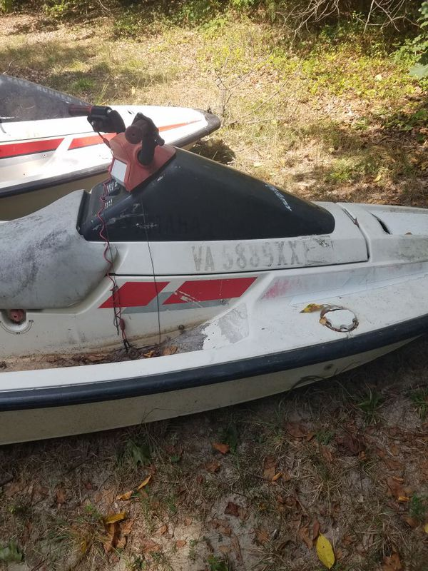 A boat and 2 jet ski SOLD