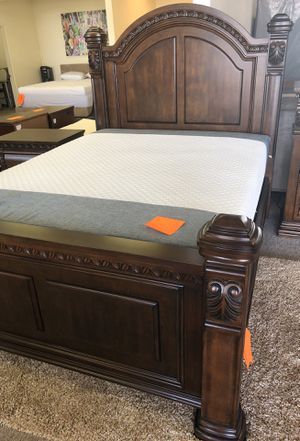 Complete 6 piece bed now only for 1699.00 and get bar table with 4 stools free... for Sale in Roseville, CA