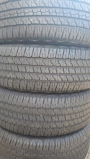 Four nice GOOD YEAR tires for sale. 265/7017 for Sale in Suitland-Silver Hill, MD