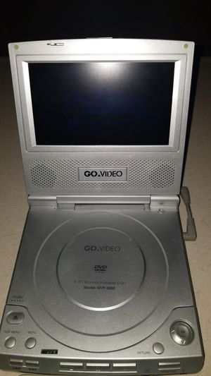 Portable DVD player works great only has one rechargeable battery with it but does hold a charge for Sale in Roxana, IL