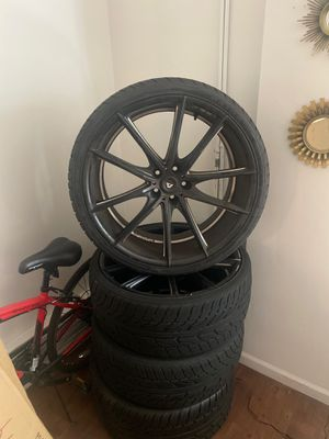 22s came off audi A7 $1000$ all rims and tires are good for Sale in Chicago, IL