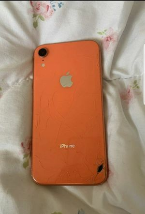Iphone xr lcd crack for Sale in Edmond, OK